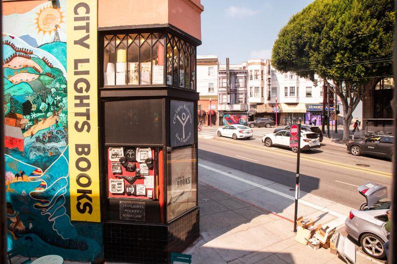 City of Lights Bookstore San Francisco