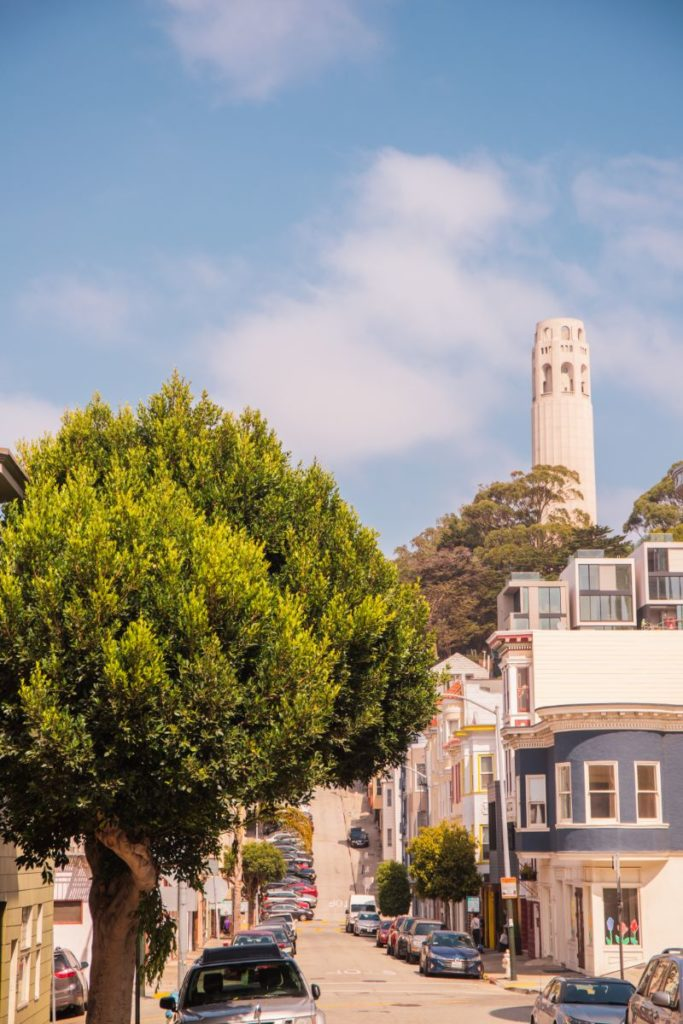 coit tower top san francisco attraction