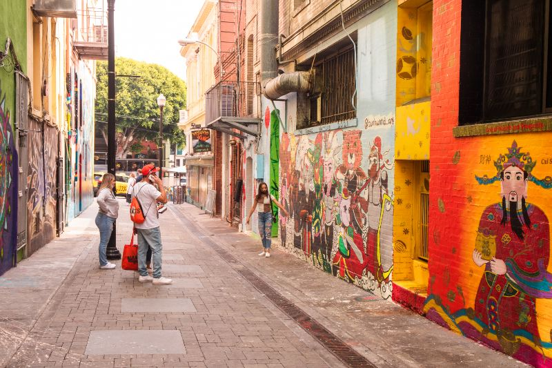 Jack Kerouac Alley San Francisco