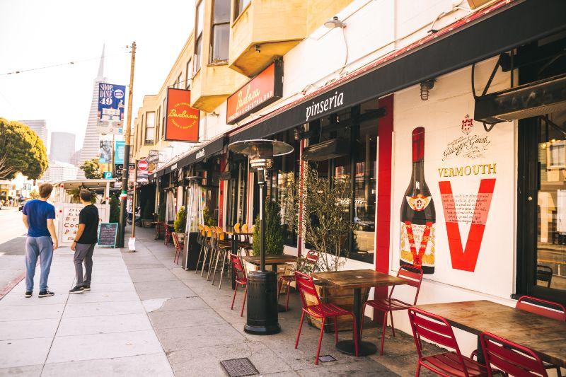 North Beach restaurants