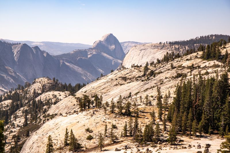 Olmsted Point Half dome view Yosemite NP