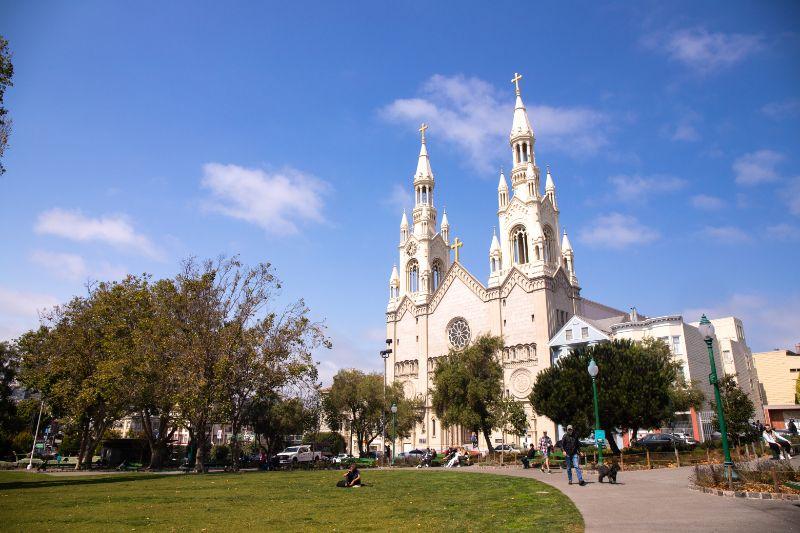 St Peter & Paul Church, Washington Square North Beach San Francisco
