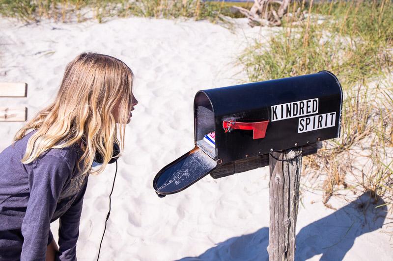 Kindred Spirit Mailbox, Bird Island, North Carolina