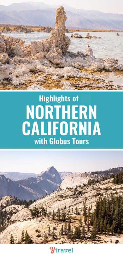 globus tour northern california