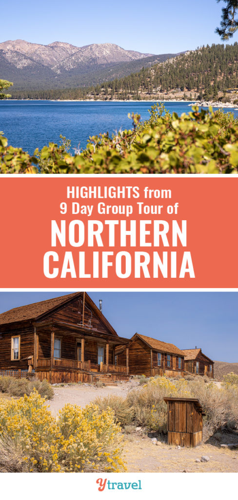 globus northern california tour
