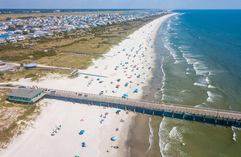 Sunset Beach, Brunswick Islands, North Carolina