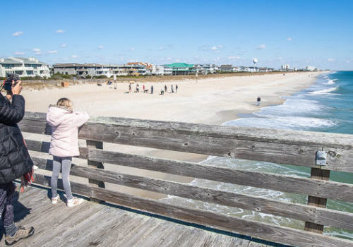 Wrightsville Beach - one of the best places to visit on a East Coast road trip
